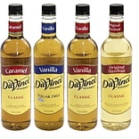 DaVinci Gourmet Syrup Variety Pack, 750 mL., 4/Pack (307-00027)