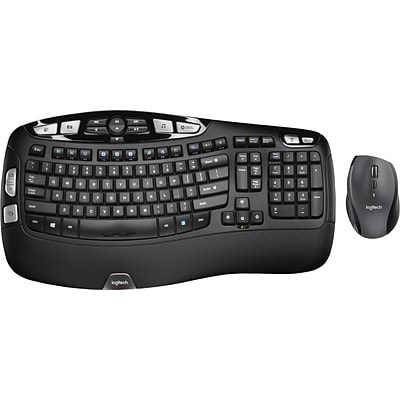 Logitech MK570 Comfort Wave Wireless Keyboard and Mouse Combo  (920-008001)