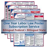 ComplyRight 1 Year State & Federal Poster Service, Texas--Bilingual Federal & State Posters