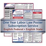 ComplyRight 1 Year State & Federal Poster Service, Pennsylvania-- English Federal & State Posters