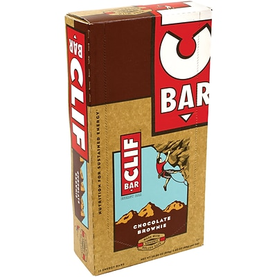Clif Bar Chocolate Brownie, 2.4 oz, 12 Count