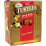 DeMets Turtles Original Bite Size; 60 Pieces/Box