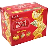 Keebler Town House Crackers Variety Pack, 4 Pack
