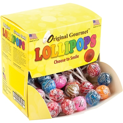 Original Gourmet Lollipops Mini Changemaker, 100 Count
