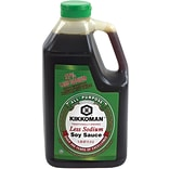 Kikkoman Less Sodium Soy Sauce, 40 oz. (00135)