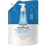 Method Foaming Hand Soap Refill, Sea Minerals, 28 Ounce (00667)