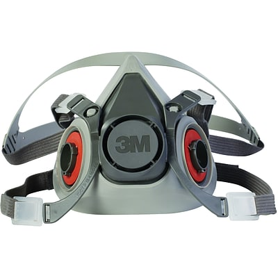 3M™ Half Facepiece Respirator, 6000 Series, Reusable, Small