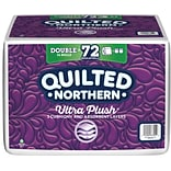 Quilted Northern Ultra Soft & Strong Toilet Paper with CleanStretch, 36 Double Rolls  (873945)
