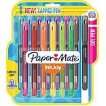 Paper Mate® InkJoy® Gel Pens, Medium Point, Assorted, 14/Pack (2023009)