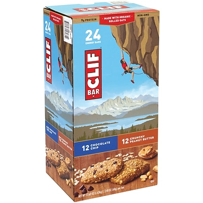 Clif Bar Energy Bar Variety Pack, 24 Count (220-00438)