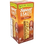 Nature Valley Sweet & Salty Nut Granola Bars Peanut, 1.2 Oz, 48 Count (GEM16879)