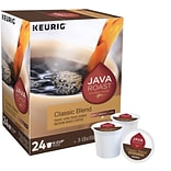 Java Roast Classic Blend Coffee, Keurig K-Cup Pods, Medium Roast, 96/Carton (52968CT)