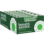 BREATH SAVERS Mints in Spearmint Flavor, 0.75 Ounce, 24/Box (HEC71433)