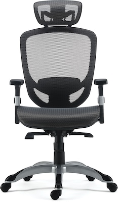Picture of: Quill Brand Hyken Technical Mesh Task Chair Charcoal Gray Quill Com