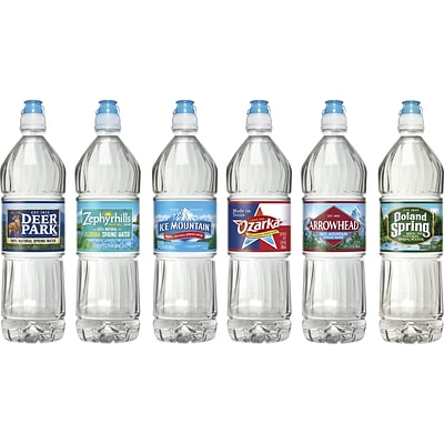 Nestle® Waters Regional Spring Bottled Water, 700mL, 24 Bottles/CS