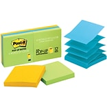 Post-it® Pop-Up Notes, 3 x 3, Jaipur Collection, 6 Pads/Pack (R330-AU)