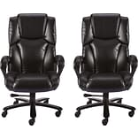 BOGO Quill Brand® Glenvar Bonded Leather Big and Tall Chair
