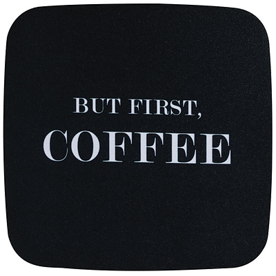 Staples Fashion Mouse Pad, Coffee