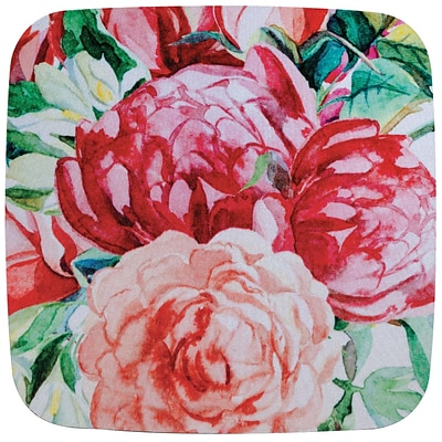 Quill Brand® Fashion Mouse Pad, Pink Floral