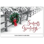 Holiday Expressions®, Crisp Winter Moment Holiday Cards With Self Stick Envelope