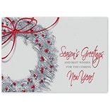 Holiday Expressions®, Artful Greetings Holiday Cards With Gummed Envelope