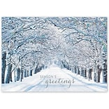 Holiday Expressions®, Crystal Lane Holiday Cards With Gummed Envelope