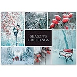 Holiday Expressions®, Winter Charm Holiday Cards With Gummed Envelope