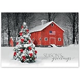 Holiday Expressions®, American Pride Holiday Cards With Gummed Envelope