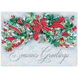 Holiday Expressions®, Red Dazzle With Gummed Envelope