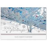 Holiday Expressions®, Frosted Wonders With Gummed Envelope