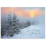 Holiday Expressions®, Fantastic Flurries Holiday Cards With Gummed Envelope