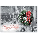 Holiday Expressions®, Rustic Cheer Holiday Cards With Self Stick Envelope