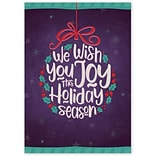 Holiday Expressions®, Filled with Joy Holiday Cards With Gummed Envelope