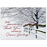 Holiday Expressions®, Winter Wishes Holiday Cards With Self Stick Envelope