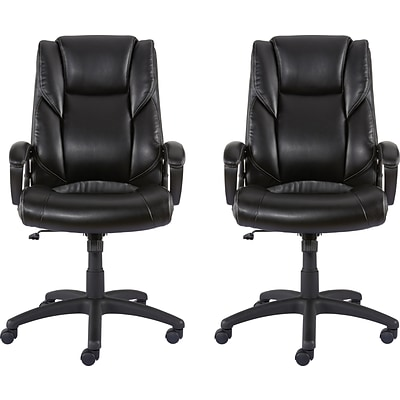hot sale online 7b05e 2d88b Buy 1 Get 1 FREE Quill Brand® Kelburne Luxura Upholstery Office Chair with  Arms, Black