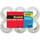 Scotch® Heavy-Duty Shipping Packing Tape, Clear, 1.88W x 54.6 Yards, 6 Rolls (3850-6-ESF)