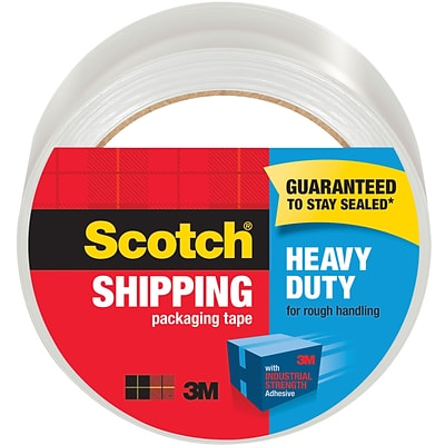 Scotch® Heavy Duty Shipping Packing Tape, 1.88 x 54.6 yds, Clear, 1/Pack