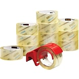 Scotch® Commercial Grade Packing Tape, 1.88W x 54.6 Yards, Clear, 12 Rolls (3750-12-DP3)