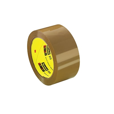 Scotch® Box Sealing Packing Tape, 1.88 x 54.6 yds., Tan (72359-9)