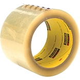 Scotch® Box Sealing Tape, 2.83 x 54.6 yds., Clear (69605-3)