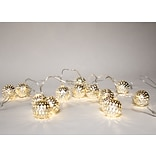 FREE Silver Balls Holiday String Lights when you spend $99