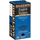Bigelow® English Teatime Tea Bags, Regular, 28 Tea Bags/Box