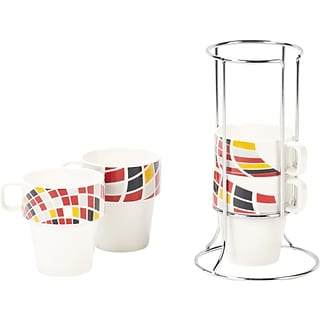 4-pc Stackable Mug Set with $175 order