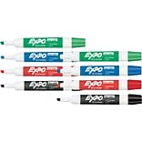 BOGO 50% OFF Expo® Low Odor Chisel Tip Dry-Erase Markers, Assorted Primary, 4/pk