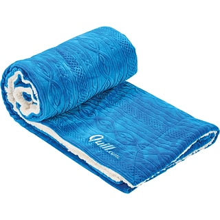 Quill Sherpa Blanket with $175 order