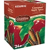 Celestial Seasonings Cinnamon Apple Spice Herbal Tea, Keurig K-Cup Pods, 24/Box (6119)