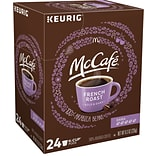 McCafe French Roast Coffee, Keurig K-Cup Pods, Dark Roast, 24/Box (5000201378)