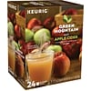 Green Mountain Hot Apple Cider Fruit Brew Seasonal, Keurig K-Cup Pods, 24/Box (6201)