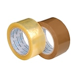 Carton Sealing Tape for Hand Held Dispensers, 3 x 110 yds,Clear, 24 rolls/CT
