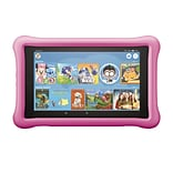 Amazon Fire HD 8 Tablet, 8 Display, 32 GB, Kid-Proof Case, Pink (B07952WB66)